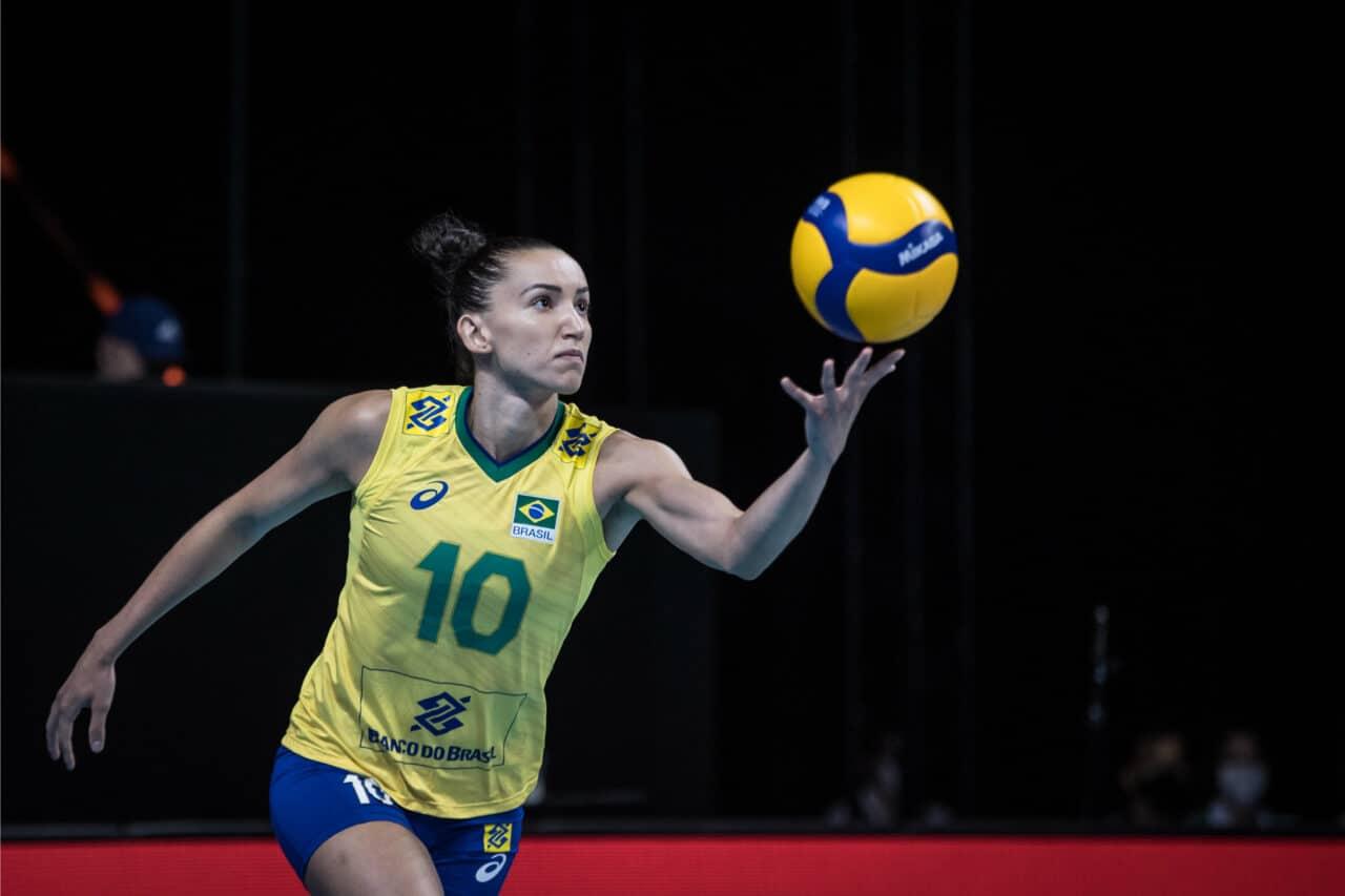 seleção feminina de vôlei Liga das Nações