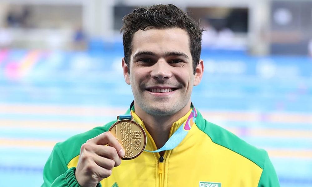 Marcelo Chierighini - natação - revezamento 4x100m livre masculino - Jogos Olímpicos de Tóquio 2020