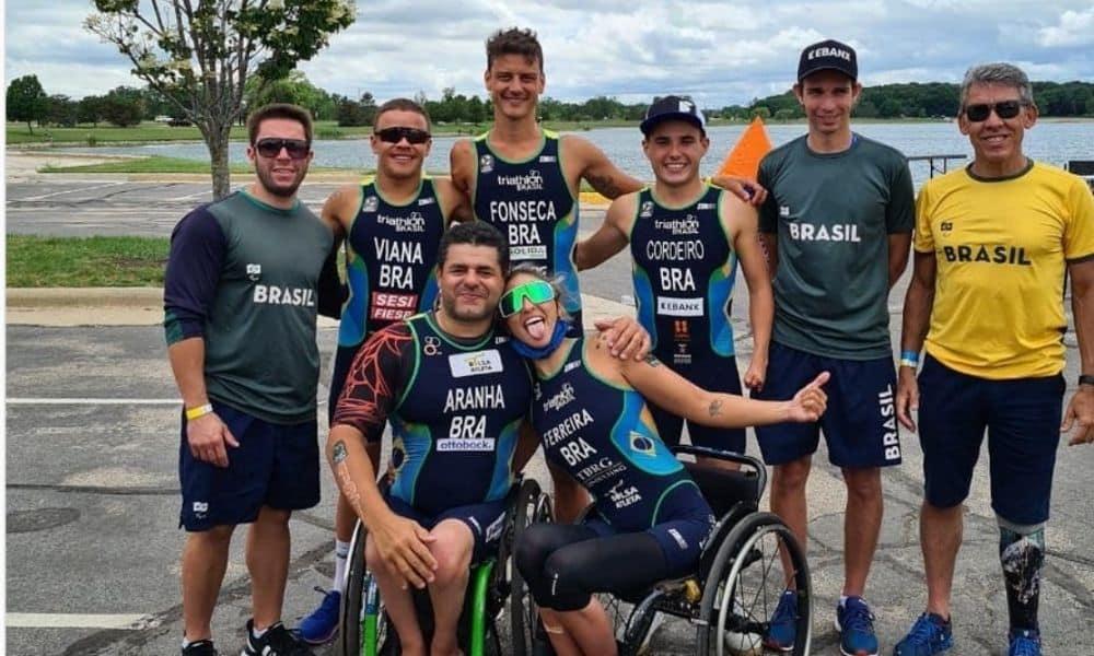 pan-americano de paratriatlo ao vivo triatlo jogos paralímpicos de tóquio 2020