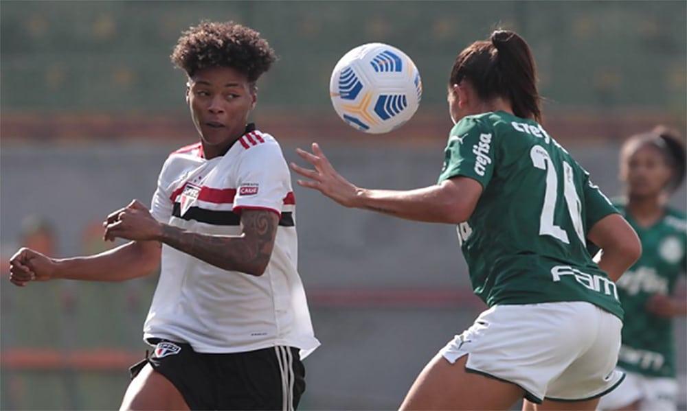 Brasileiro Feminino São Paulo Palmeiras