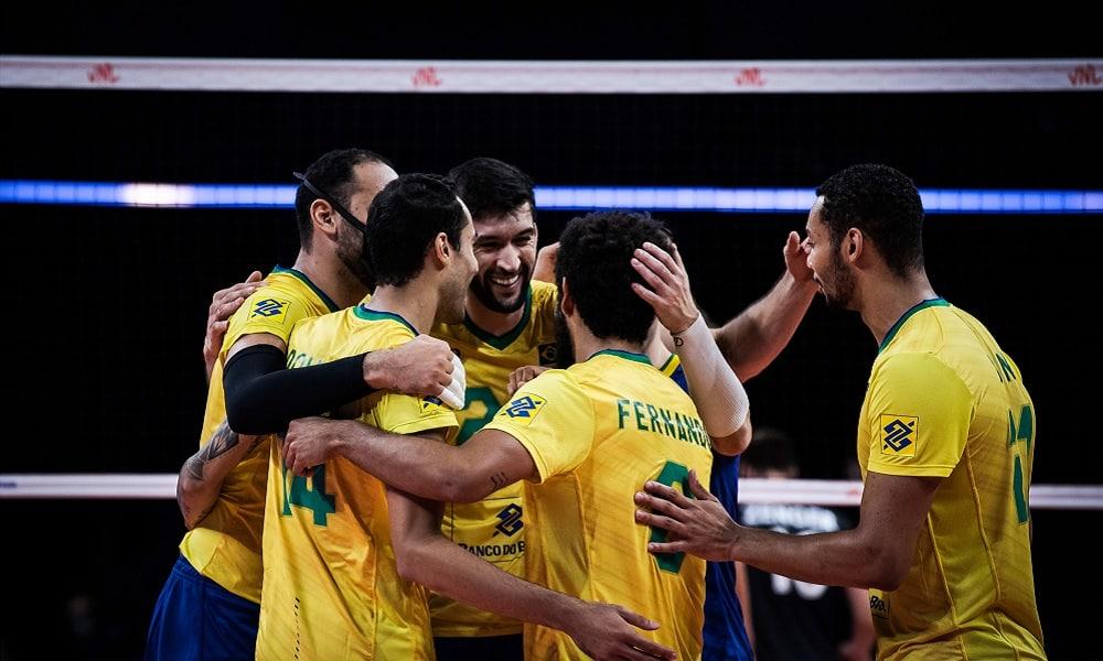 Brasil x Rússia Liga das Nações masculina ao vivo