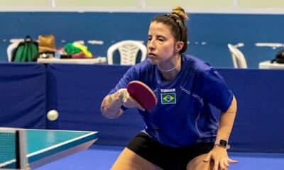Jennyfer Parinos - Seletiva Mundial de tênis de mesa - Tóquio 2020