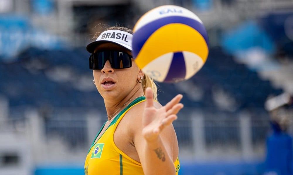Ana Patrícia e Rebecca vôlei de praia Tóquio