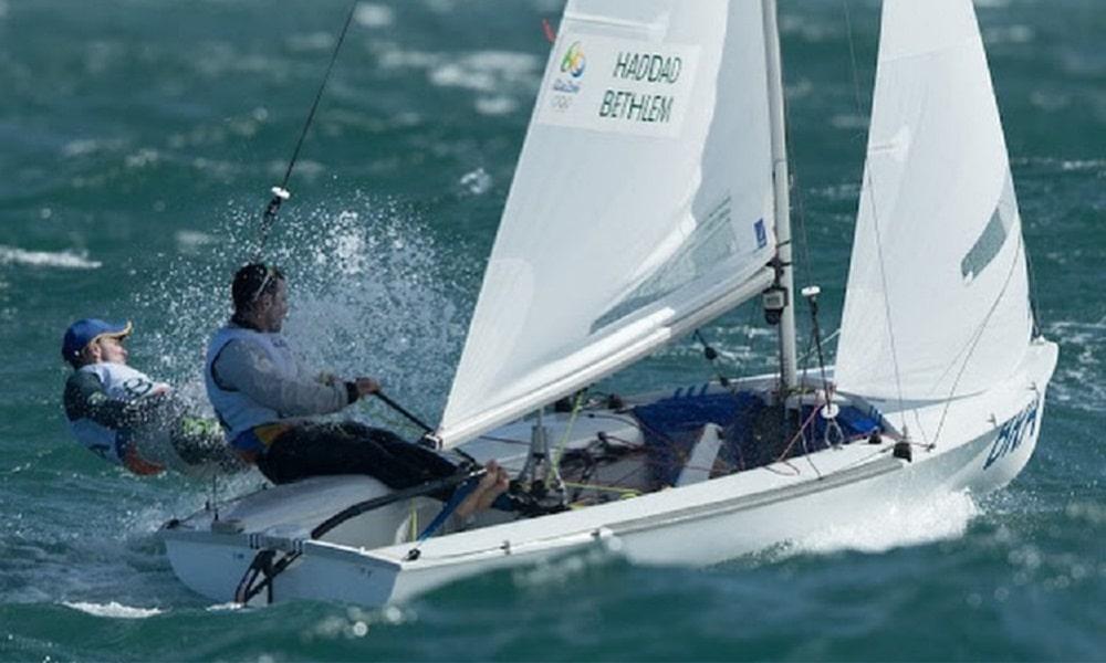 Henrique Haddad Jogos Olímpicos de Tóquio vela classe 470