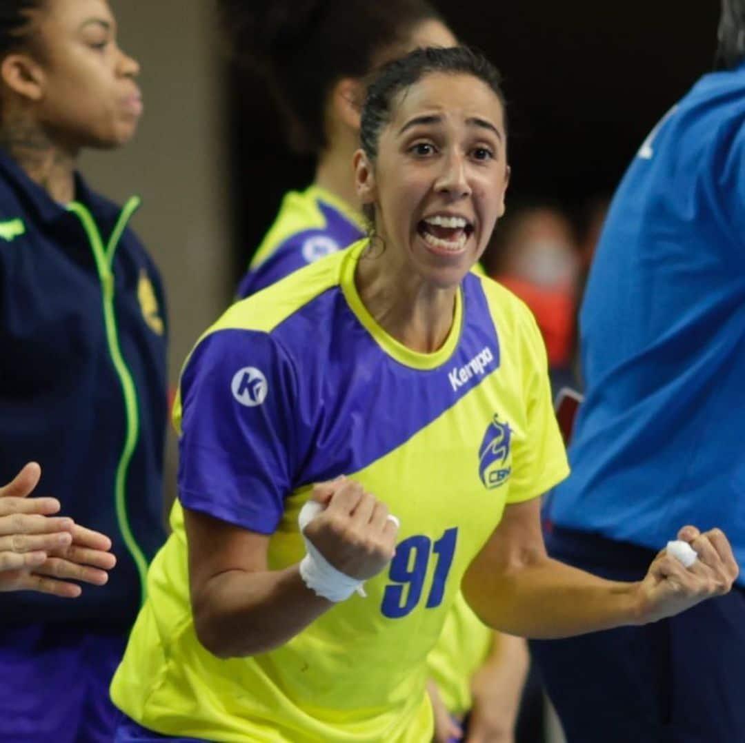 Lívia Ventura - seleção feminina de handebol - Olimpíada de Tóquio 2020
