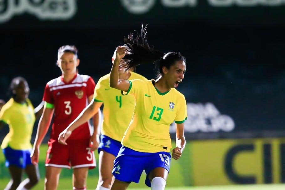 Bruna Benites seleção feminina olímpica de futebol Jogos Olímpicos de Tóquio 2020