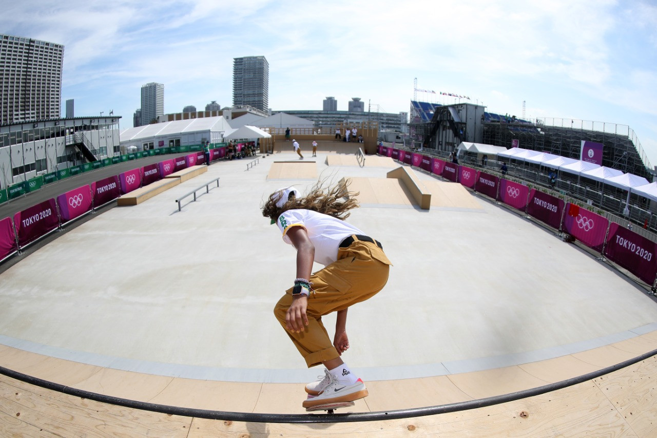 Seleção brasileira de skate street jogos olímpico tóquio