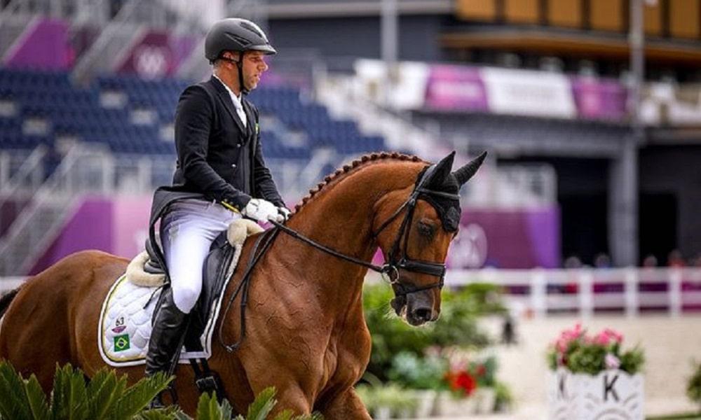 CCE (Concurso Completo de Equitação) Tóquio Carlos Parro