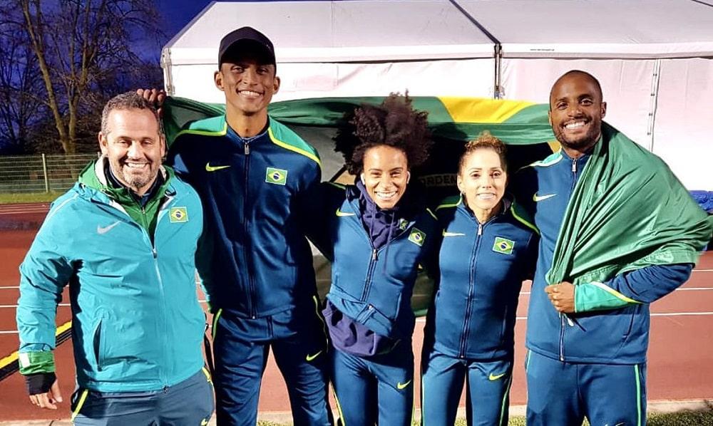 atletismo Jogos Olímpicos  revezamento 4x400m Tóquio