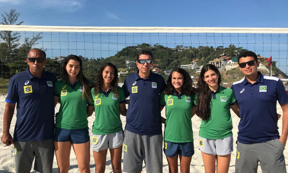 vôlei de praia Brasil define duplas para o Mundial Sub-19 feminino