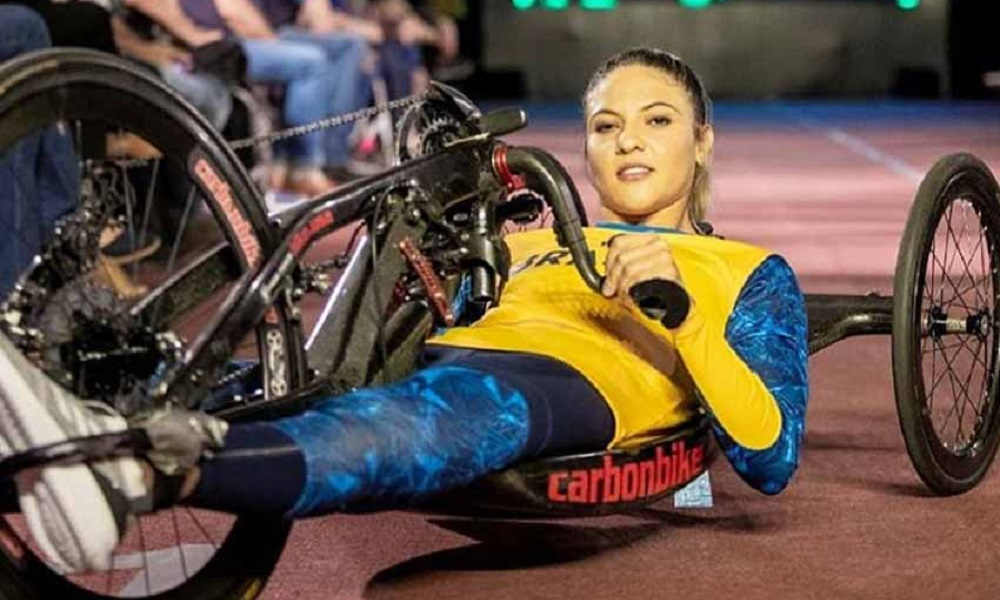 Jéssica Messali Triatleta paralímpica Jogos Paralímpicos Tóquio