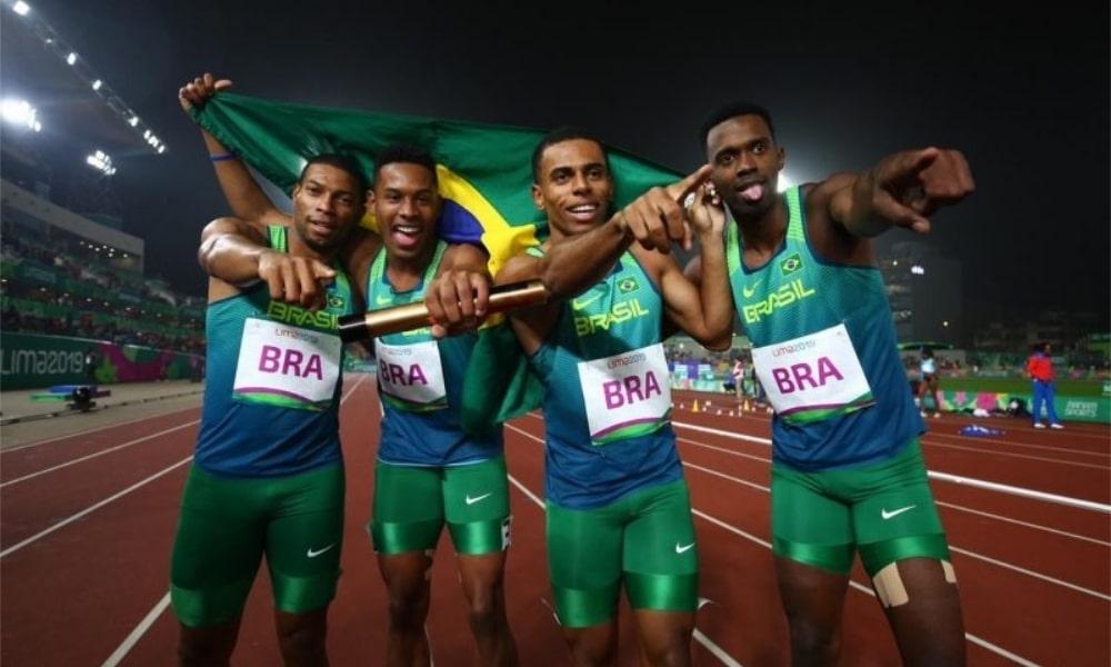 Rodrigo do Nascimento - Revezamento 4x100m - 100m - Atletismo - Jogos Olímpicos de Tóquio 2020