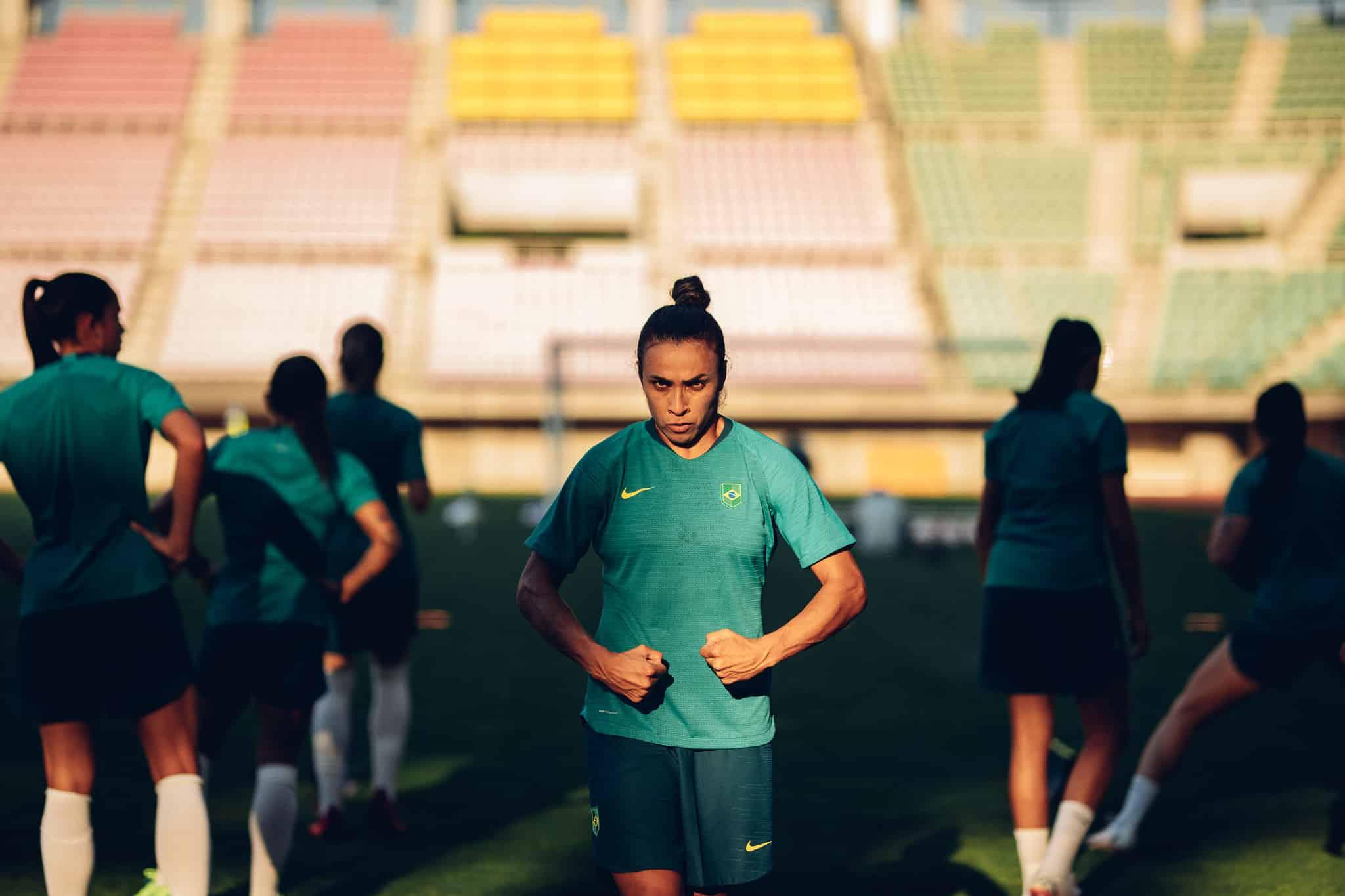 Seleção Feminina treina com foco na estreia diante da China nos Jogos Olímpicos de Tóquio