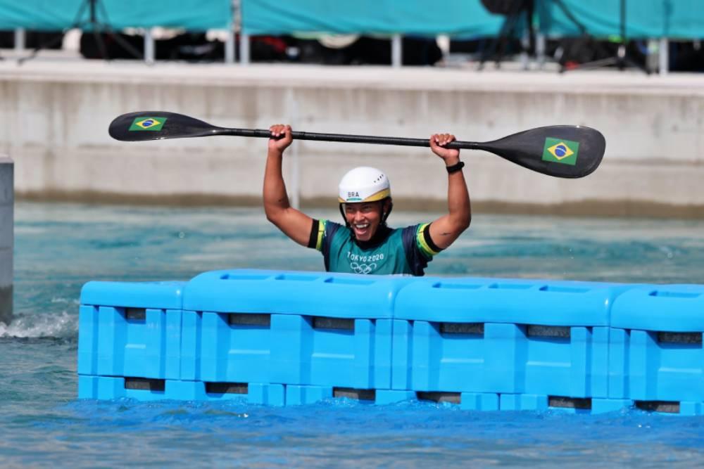 Ana Sátila prova do K1 feminino Jogos Olímpicos Tóquio