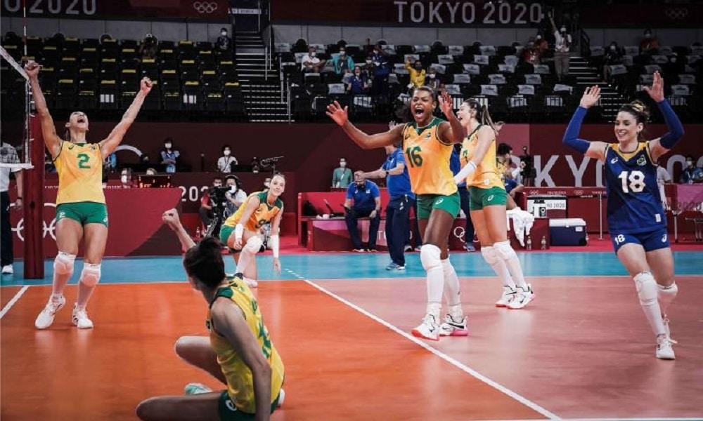 AO VIVO - Brasil x Japão - Vôlei feminino - Jogos Olímpicos de Tóquio 2020