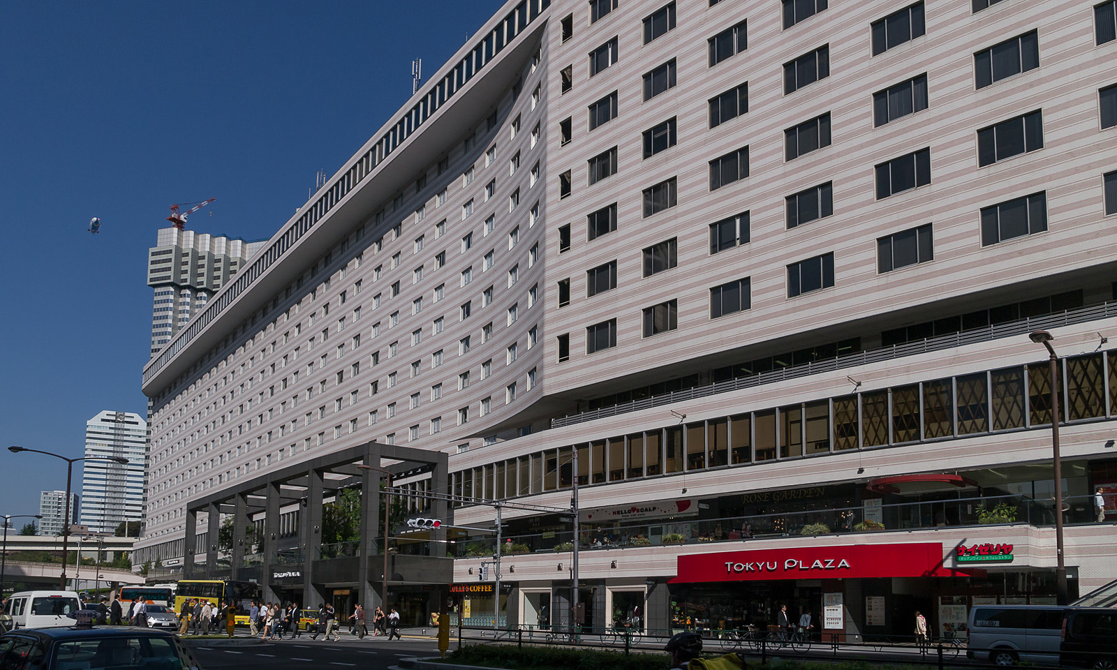 Hotel Tóquio segregação