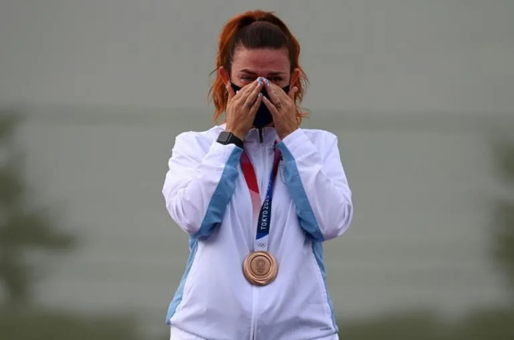 Alessandra Perilli tiro esportivo