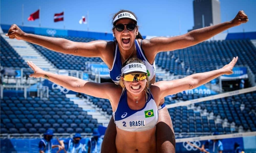 Ana PAtrícia e Rebecca jogos olímpicos vôlei de praia