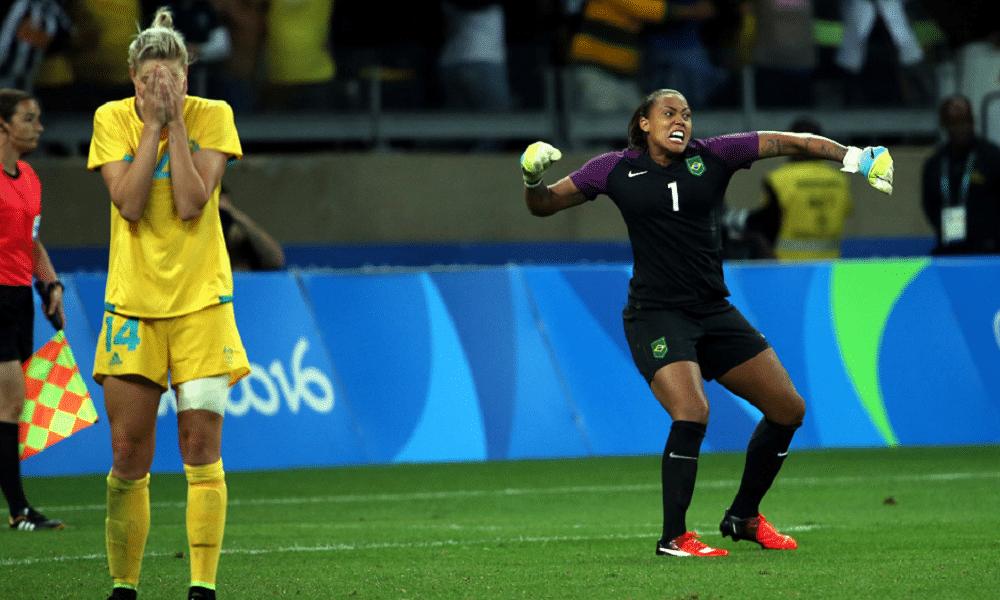 Bárbara - seleção brasileira de futebol feminino - Jogos Olímpicos de Tóquio 2020