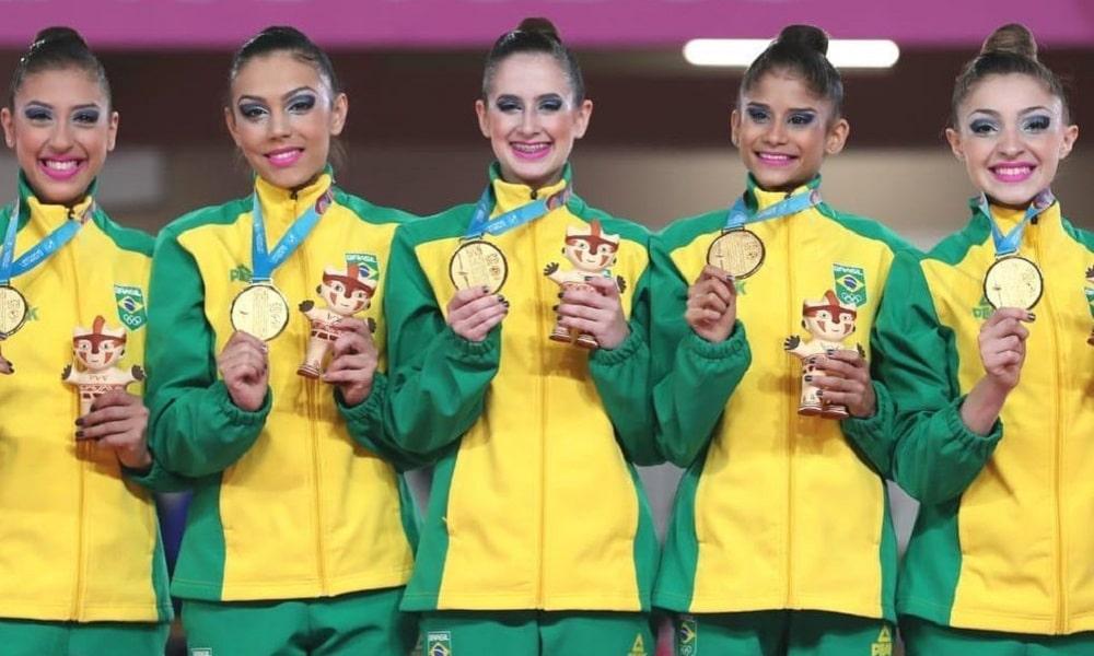 Beatriz Linhares - ginástica rítmica - conjunto - Jogos Olímpicos de Tóquio 2020