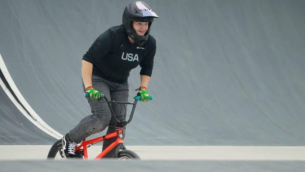 Hannah Roberts BMX Freestyle