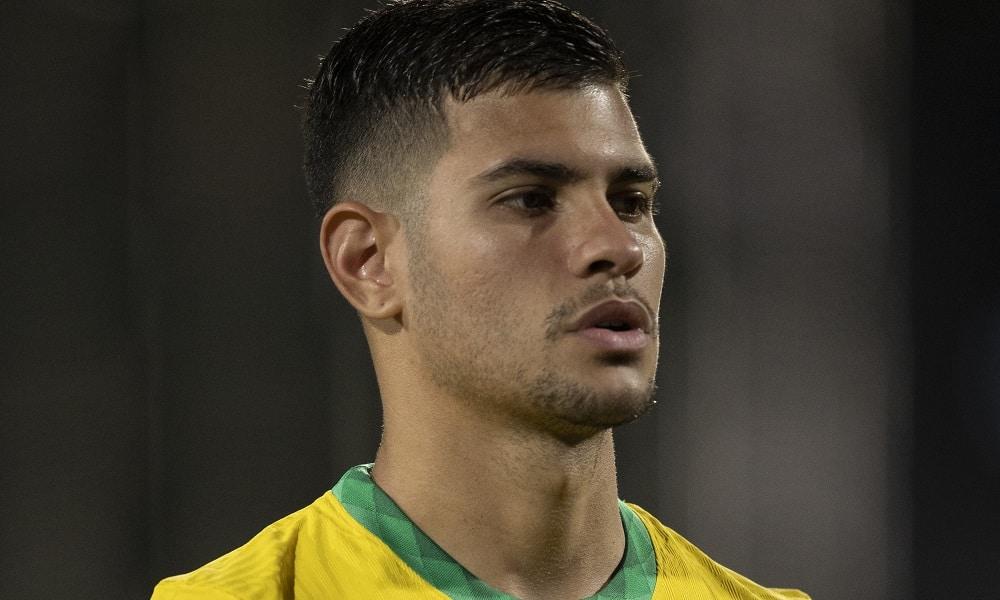 Bruno Guimarães - futebol masculino - Jogos Olímpicos de Tóquio 2020