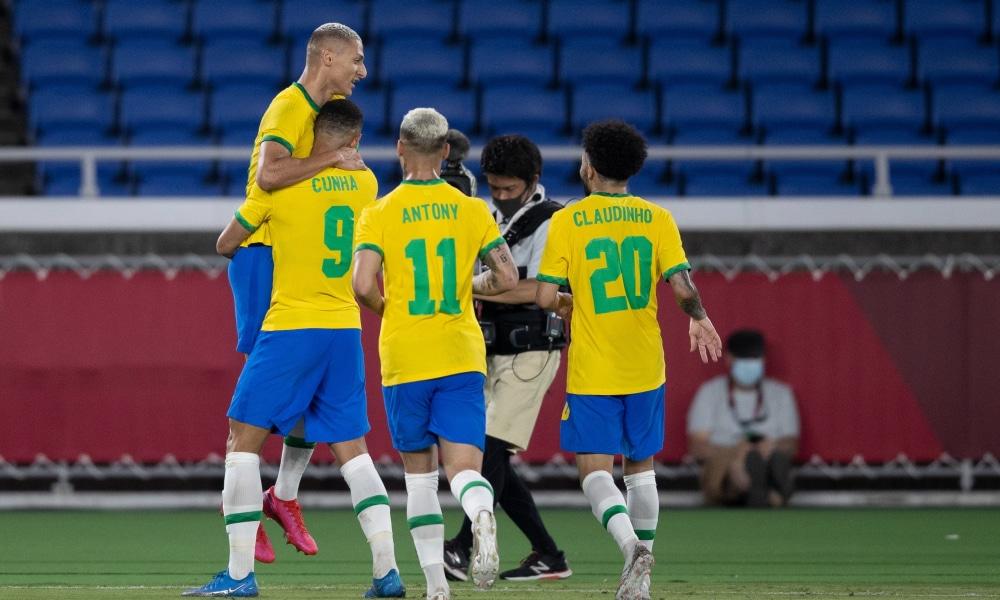 Brasil e Alemanha - Seleção olímpica masculina - Jogos Olímpicos de Tóquio 2020