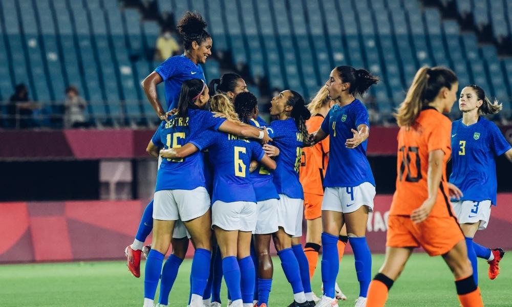Brasil e Holanda - Seleção feminina - Jogos Olímpicos de Tóquio 2020