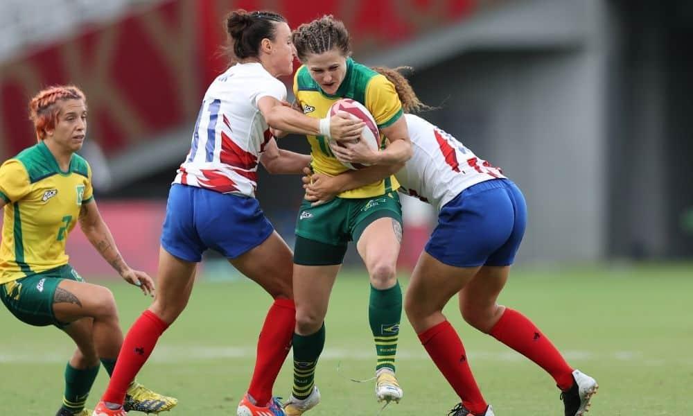 Brasil França Yaras rugbi sevens