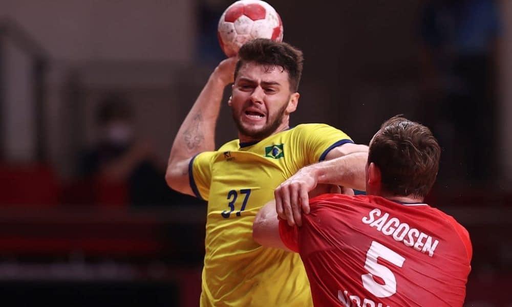 Brasil x Espanha handebol masculino jogos olímpicos haniel langaro
