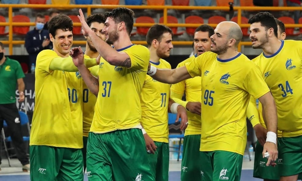 Brasil e Portugal - Amistoso de handebol - Seleção brasileira de handebol masculino - Tóquio 2020
