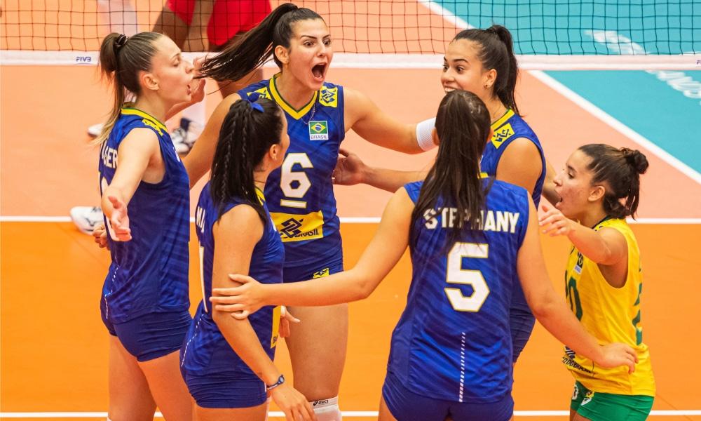 Brasil - Mundial Sub-20 de vôlei feminino
