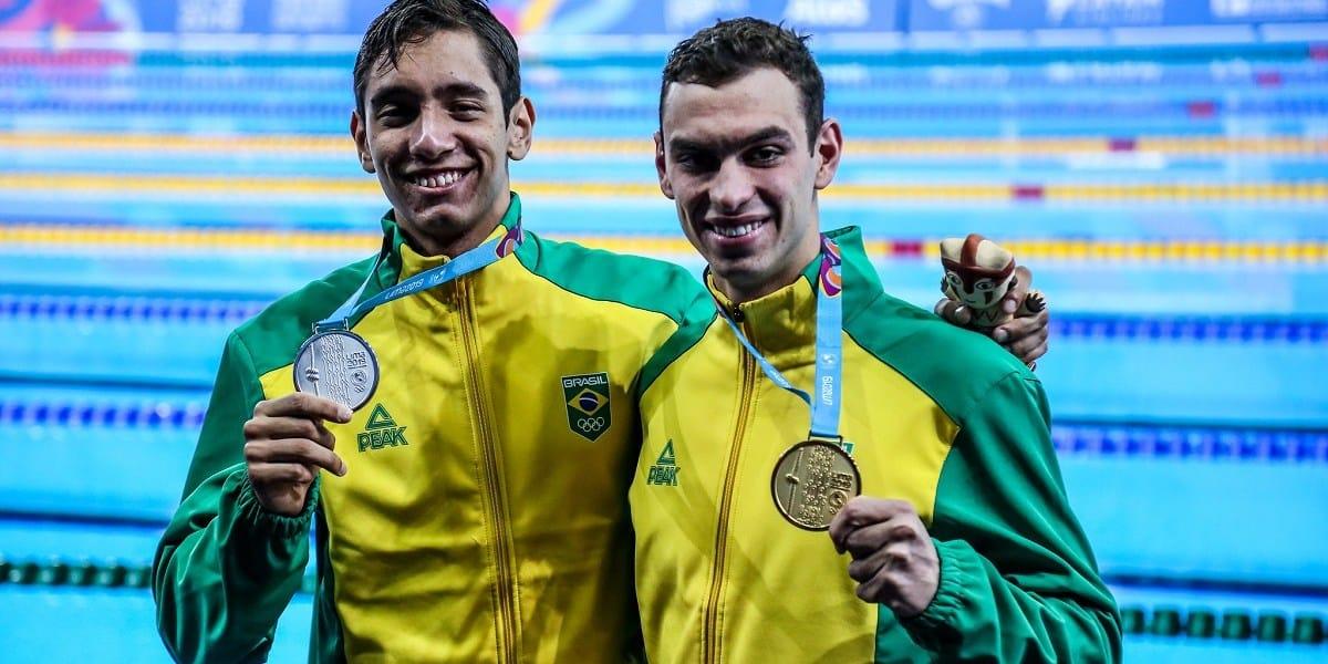 Fernando Scheffer - 200m livre - revezamento 4x200m livre - Tóquio 2020 - Olimpíada.- natação - Breno Correia