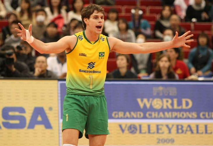 Bruninho - seleção brasileira de vôlei - Jogos Olímpicos de Tóquio 2020 -levantador