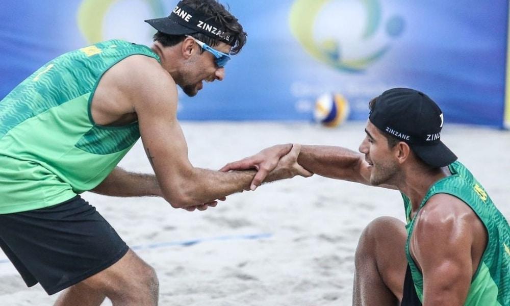 Vinícius Cardozo e Maia - Ângela e Rupia Inck - Circuito Mundial de vôlei de praia