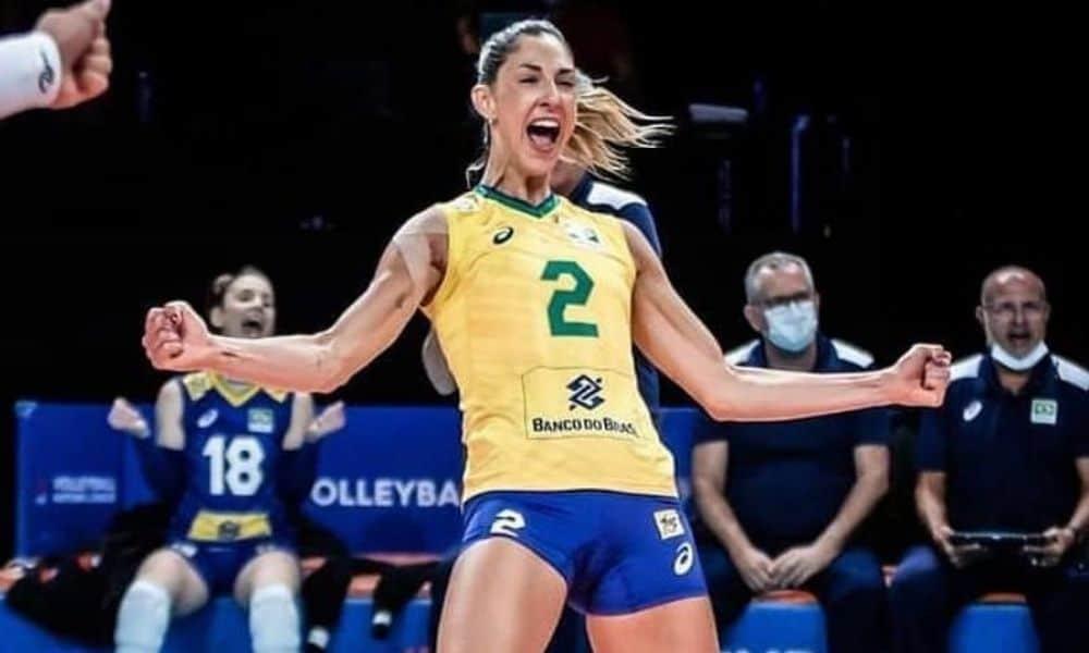 Carol Gattaz seleção brasileira de vôlei feminino - Jogos Olímpicos de Tóquio 2020 Olimpíada