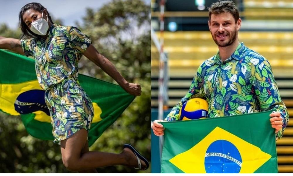 Brasil - Cerimônia de Abertura - Jogos Olímpicos de Tóquio