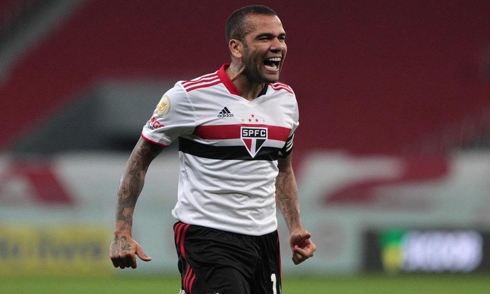 Daniel Alves - futebol masculino - Jogos Olímpicos de Tóquio 2020