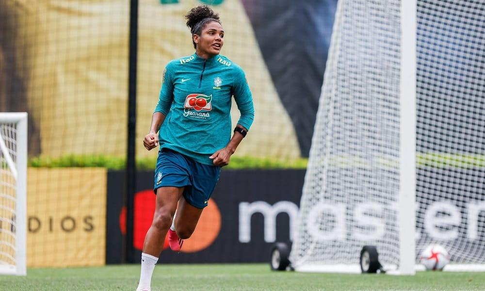 Duda - seleção brasileira de futebol feminino - Jogos Olímpicos de Tóquio 2020