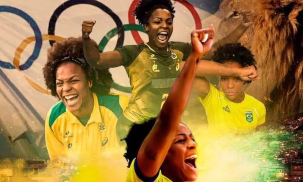 Dayane Rocha - seleção feminina de handebol - Olimpíada de Tóquio 2020