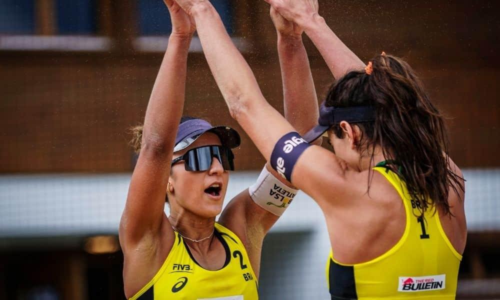 Barbara/Carol Solberg - Agatha/Duda - Evandro/Bruno Schmidt - Ana Patrícia/Rebecca - Circuito Mundial de vôlei de praia
