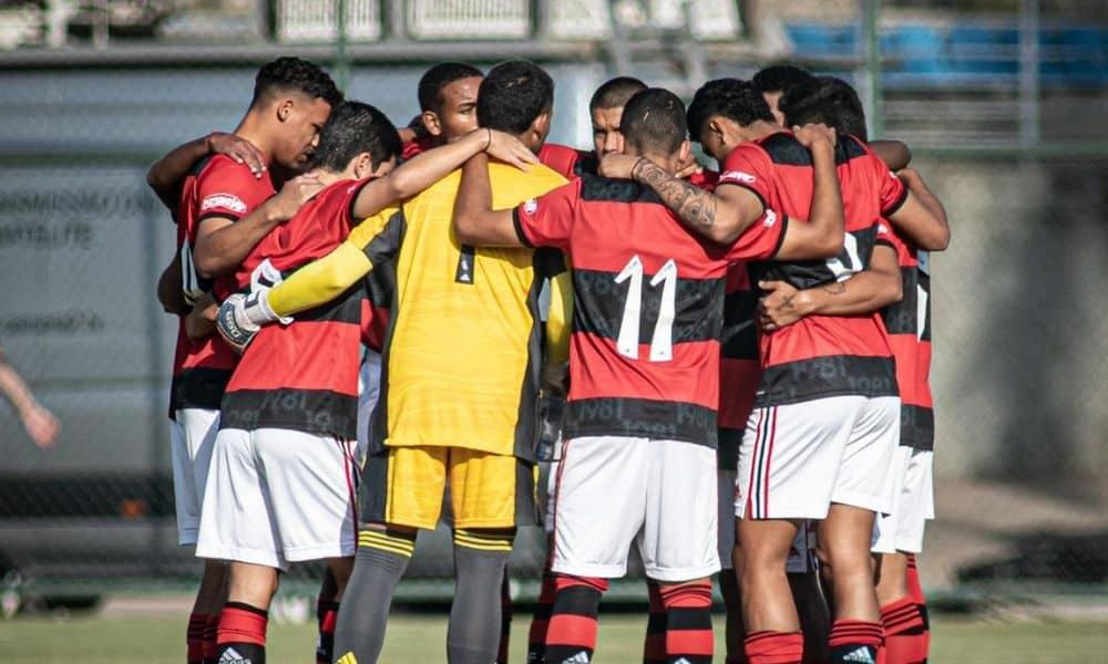 Flamengo e São Paulo Brasileiro Sub-17