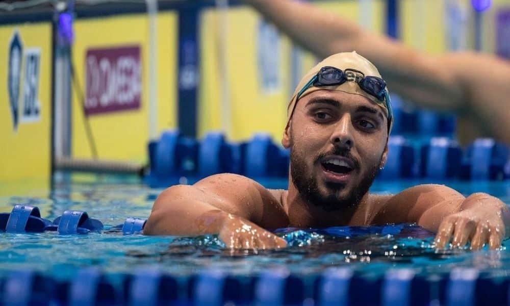Vini Lanza - Caio Pumputis - Larissa Oliveira - 4x200m livre feminino - Jogos Olímpicos de Tóquio - 4x100m medley misto - natação Jungblut