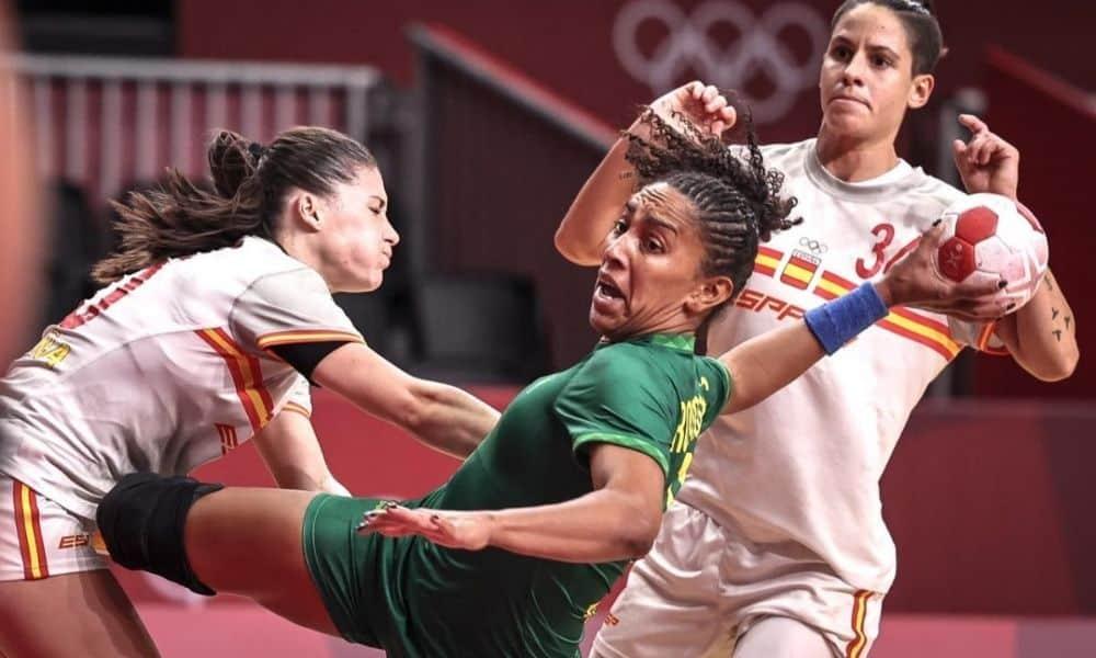 Brasil x Espanha - Handebol feminino