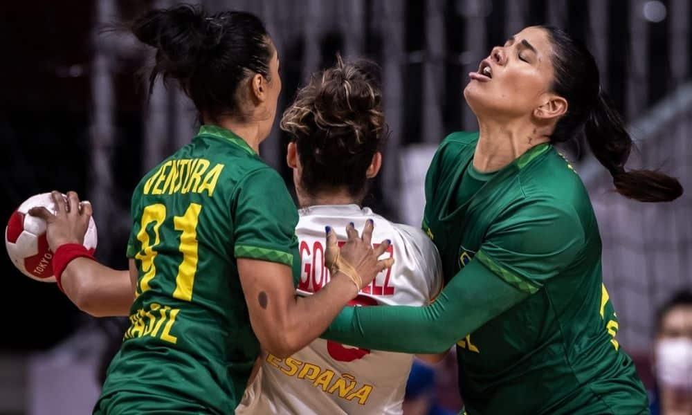 Brasil x Suécia - Handebol feminino