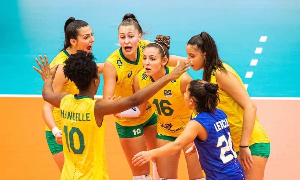 Brasil Coreia do Sul vôlei feminino jogos olímpicos Brasil x Polônia - Mundial Sub-20 de vôlei feminino