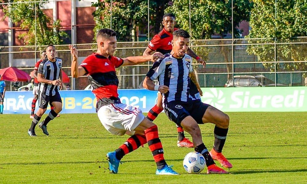 Flamengo x Botafogo - Brasileiro Sub-20