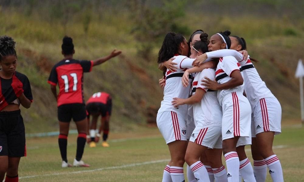 Brasileiro feminino sub-18 São Paulo Flamengo
