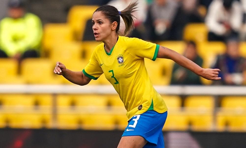 Érika - seleção brasileira de futebol feminino - Jogos Olímpicos de Tóquio 2020