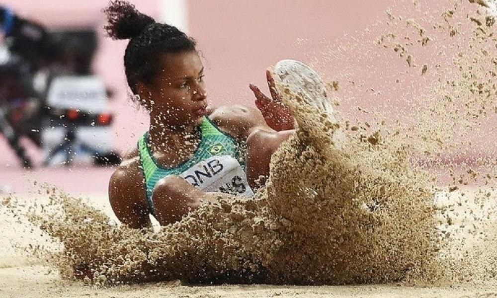Eliane Martins - atletismo - salto em distância - Jogos Olímpicos de Tóquio 2020